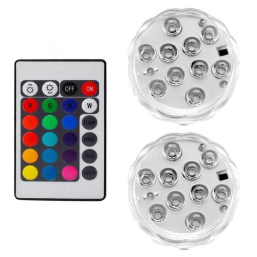 Outlight RGB LED Batterij lamp set ook voor onderwater 27124 | 8716803509269