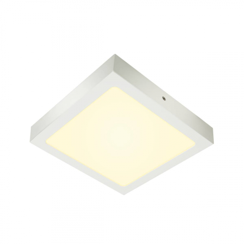 SLV – verlichting Led plafondlamp Senser 24 vierkant 1003019   4024163232098