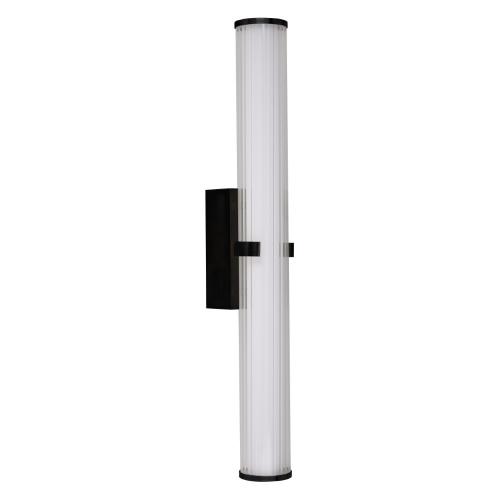 Searchlight Badkamer wandlamp Clamp 63126-1BK | 5053423168135