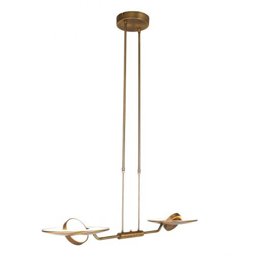 Steinhauer Hanglamp Zenith LED 2428BR | 8712746129281