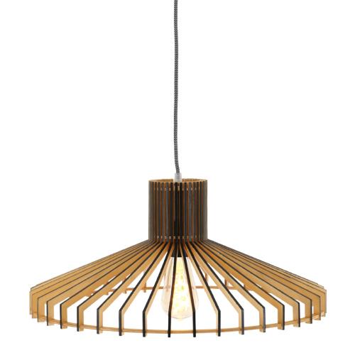 Steinhauer Houten hanglamp SmuktØ 50cm 2699BE | 8712746132908