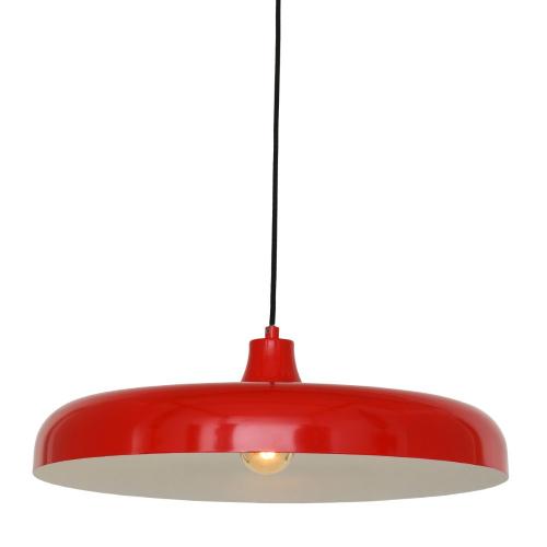 Steinhauer Rode hanglamp KrisipØ 50cm 2677RO | 8712746132540
