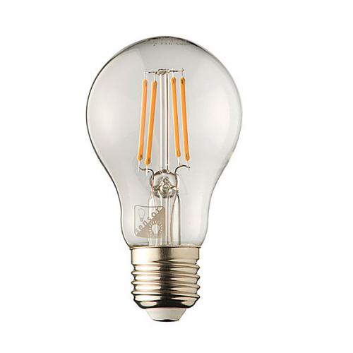 Techno Filament Lampenbol E27 – 2W – LED met schemersensor 5055   8718801524749