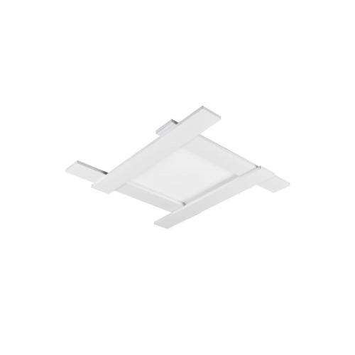Trio international Vierkante plafondlamp Belfast 675510531   4017807455755