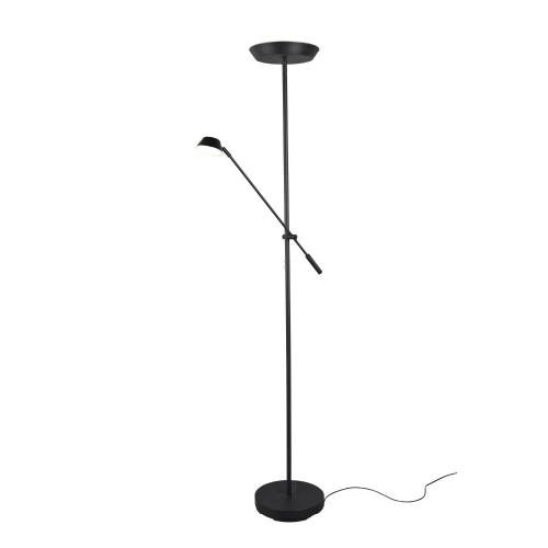 Trio international Zwarte leeslamp Haora R42321232   4017807455731