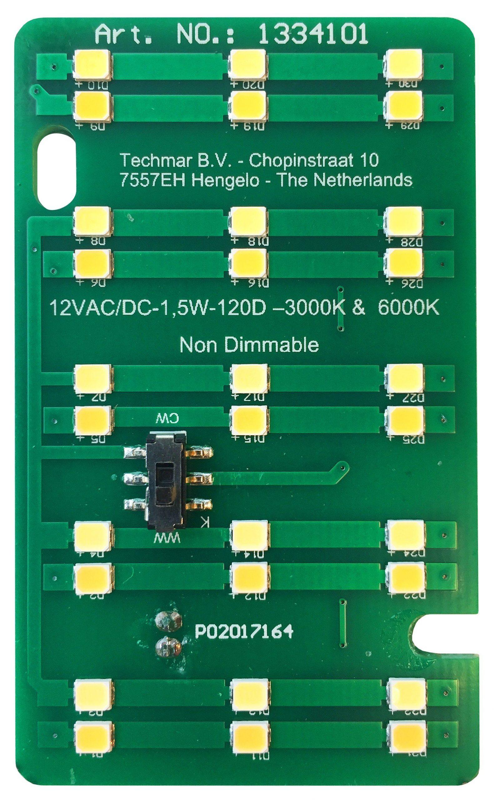 GardenLights 12V – 15 x SMD LED unit – 2W – 3000K-6000K 1334101 | 5907800858075