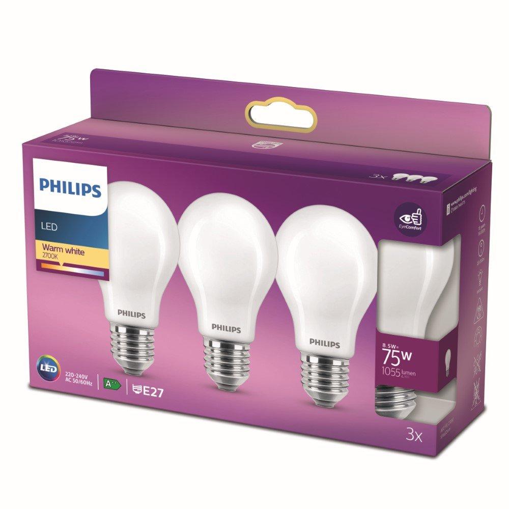 Philips 8,5W – E27 – 2700K – 1055 lumen 929002025759 | 8719514266735