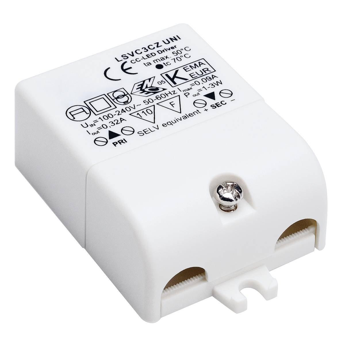 SLV – verlichting Led Driver – 3W – 350mA 464108 | 4024163102179