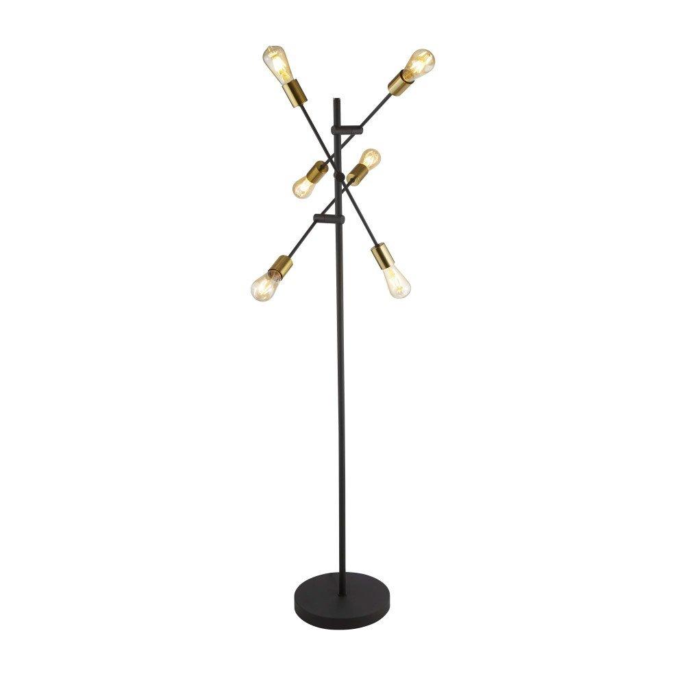 Searchlight Armstrong EU8076-6BK | 5053423134291